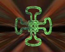 Stock Video Footage of VJ Loop, Alchemical and Religous horizon vortex