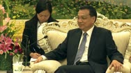 Stock Video Footage of Li Keqiang vice Premier of the People's Republic of China