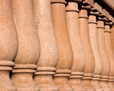 Balustrade - stock photo