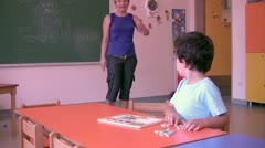 Preschool Student Stock Footage