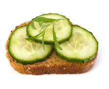 Stock Photo of healthy sandwich
