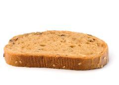 healthy grain bread - stock photo