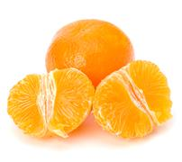 tangerine - stock photo