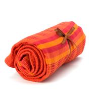 Towel isolated on white background Stock Photos