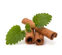 Stock Photo of cinnamon sticks