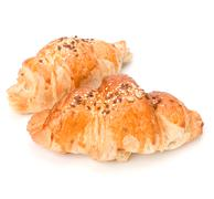 Stock Photo of croissant isolated on white background