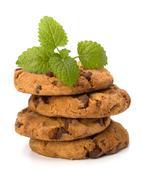 Stock Photo of chocolate homemade pastry cookies