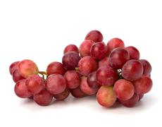 Stock Photo of perfect bunch of red grapes
