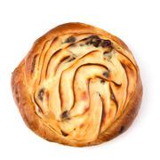 delicious sweet cream bun - stock photo