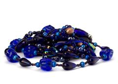 colourful glass beads - stock photo