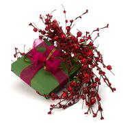 Stock Photo of festive gift box