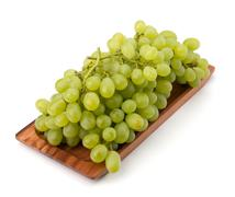Stock Photo of perfect bunch of white grapes