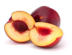 nectarine fruit - stock photo