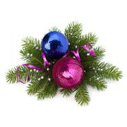 christmas ball decoration - stock photo