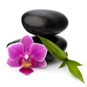 Stock Photo of zen pebbles balance. spa and healthcare concept.