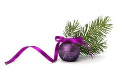 christmas ball decoration - stock photo