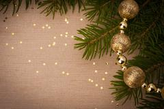 Stock Photo of christmas festive  background with copy space