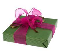 Stock Photo of festive gift box