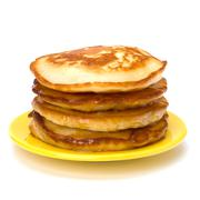 pancakes - stock photo