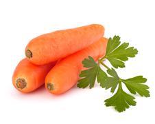 Carrot tubers Stock Photos