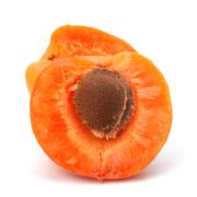 ripe apricot fruit - stock photo