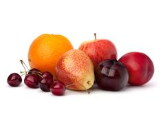 Fruit variety Stock Photos