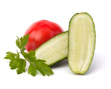 Stock Photo of cucumber vegetable