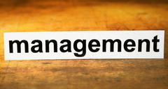 Stock Photo of management