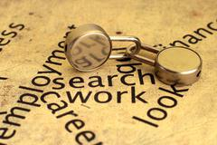 search work - stock photo