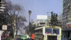 Zona Rosa MEXICO CITY Urban Street Scene 1960s Vintage Film Home Movie 4348 Stock Footage