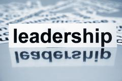 leadership - stock photo