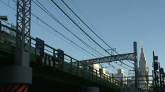 Shinjuku trainstation Stock Footage