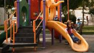 Playground in Tehran. Stock Footage
