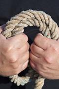 Fisherman's rope Stock Photos