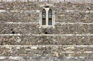Windsor castle wall detail Stock Photos
