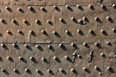 Ancient metal fortification gates Stock Photos