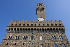 palazzo vecchio in florence - stock photo