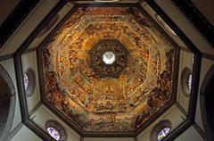 The dome of basilica di santa maria del fiore in florence Stock Photos