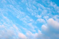 Background of sky and clouds Stock Photos