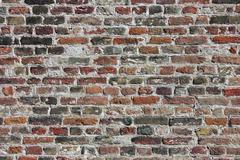colorful bricks background - stock photo