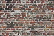 Colorful bricks background Stock Photos