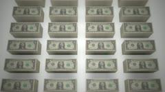 Dollar bills 06 Stock Footage