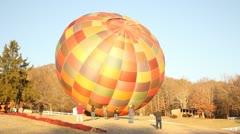 Hot air balloon's Stock Footage