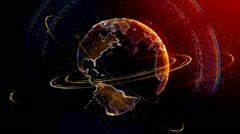Planet 10 Stock Footage