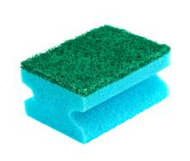 Blue and green sponge Stock Photos