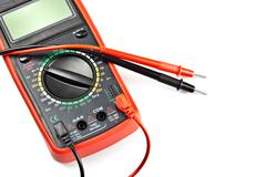 Stock Photo of electronic measuring device