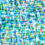 Colorful square pixels abstract pattern background. Stock Illustration