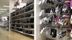 Shoe Shop 1 Stock Footage
