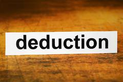 Deduction Stock Photos