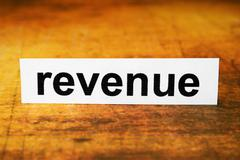 revenue - stock photo